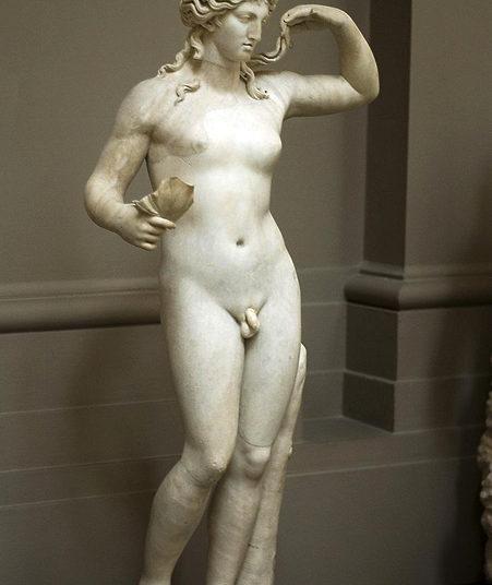 Статуя гермафродита
